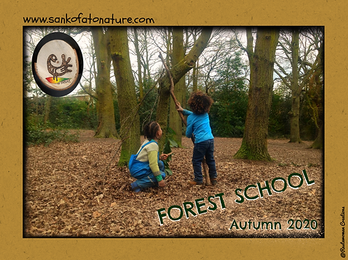 October Half-term Forest School 3 Full Days