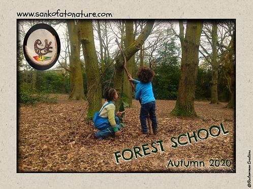 October Half-term Forest School 2 Full Days