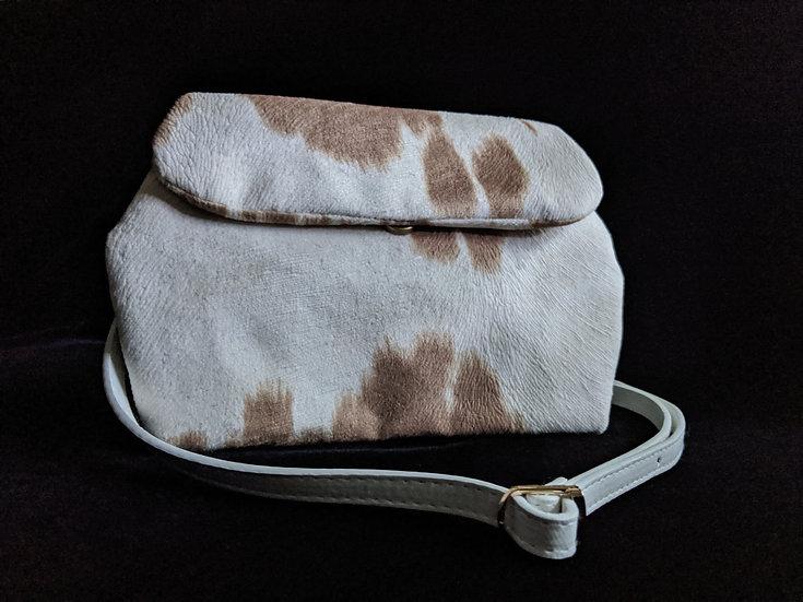 Khaki Cowhide Dileyas Waist Bag