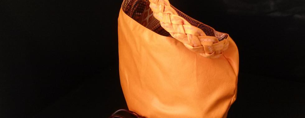 Orange Naimone Tote