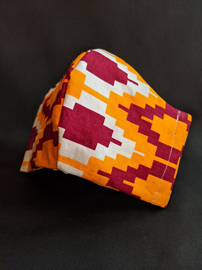 Orange Geo JorLani Face Masj
