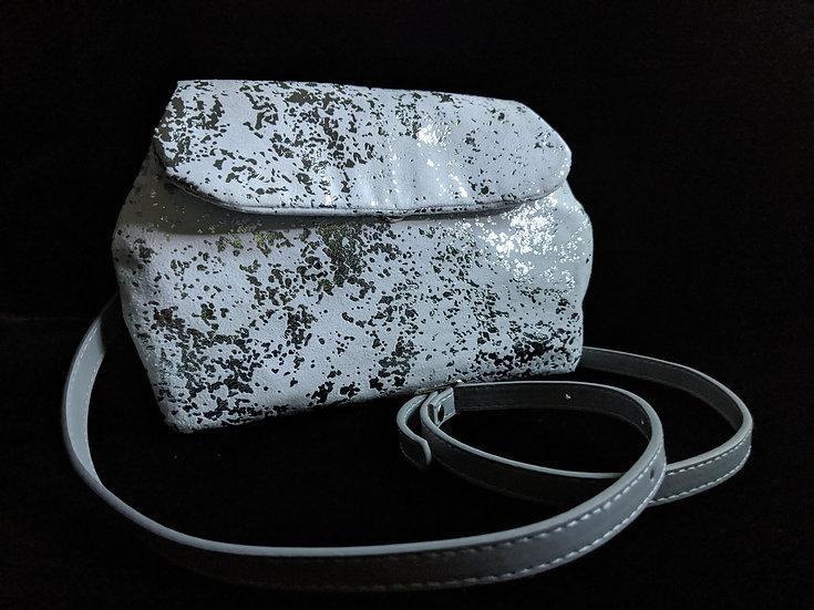Silver Micro Hide Dileyas Waist Bag