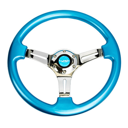 Illinium Flux Chrome Series Steering Wheel