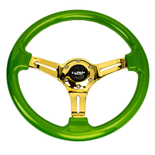 Illinium Flux Gold Series Steering Wheel