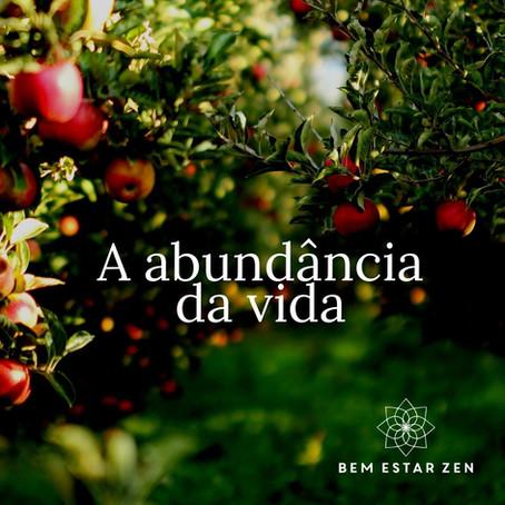 A abundância da vida