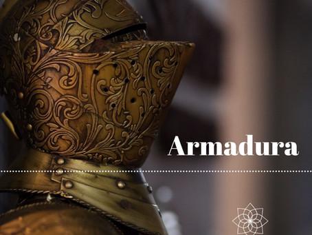 A sua armadura