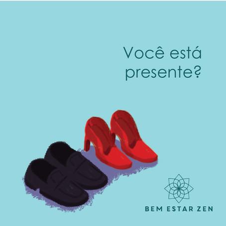 Você está presente?