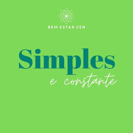 Simples e constante