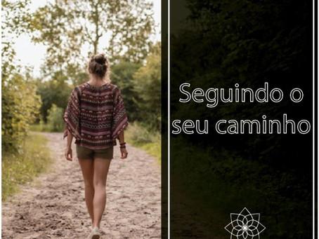 Seguindo o seu caminho