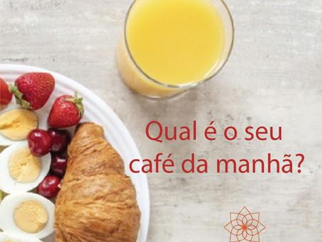 Qual é o seu café da manhã?