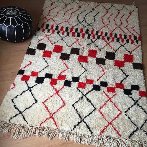 Moroccan Genuine 100% Wool Beni Ourain Rug (BOC50)