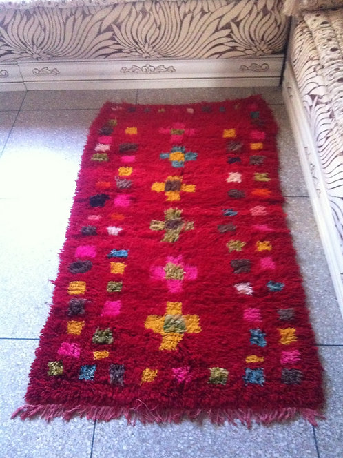Moroccan Genuine 100% Wool Azilal Rug