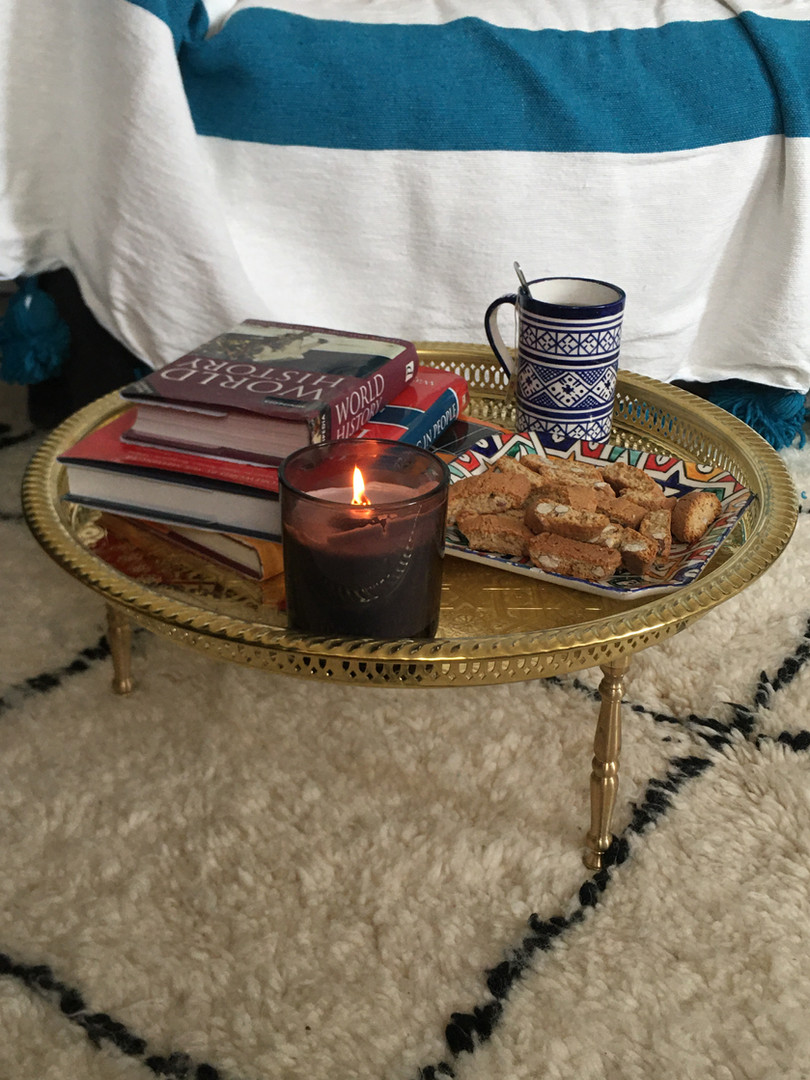 Moroccan Serving tray-table