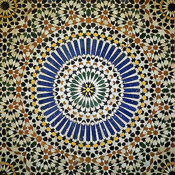 Moroccan Mozaic tiles