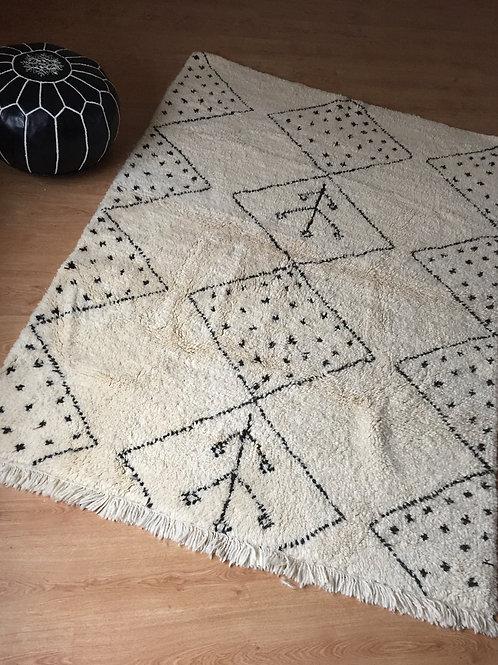 Moroccan Genuine 100% Wool Beni Ourain Rug (BO43)