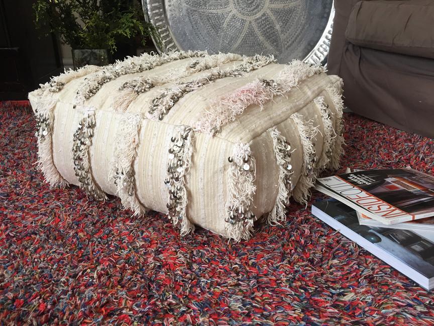 Handira floor cushion