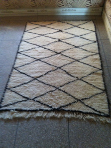 Moroccan Genuine 100% Wool Beni Ourain Rug Lux05