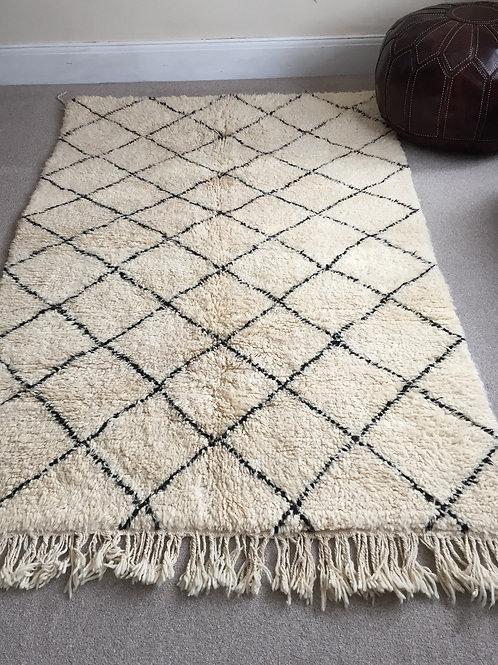 Moroccan Genuine 100% Wool Beni Ourain Rug (BO41)