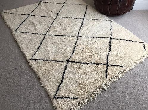 Moroccan Genuine 100% Wool Beni Ourain Rug (BO44)