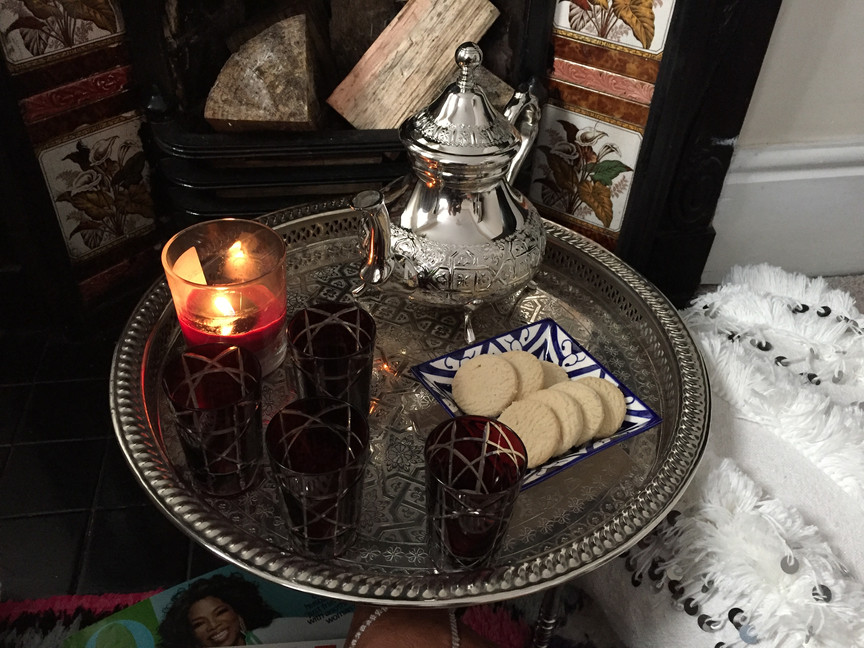 Moroccan teapot Oscar