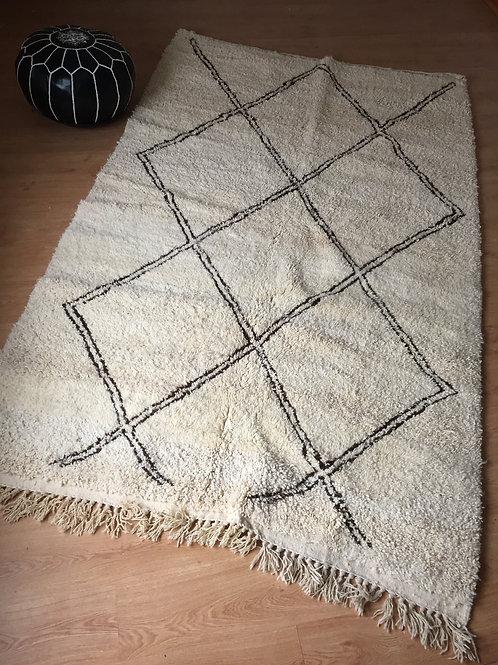 Moroccan Genuine 100% Wool Beni Ourain Rug (BO40)