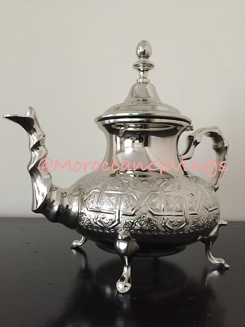Large Handcrafted Maliki Teapot (ML010)