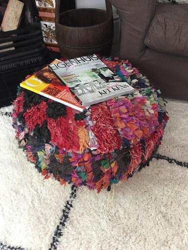 Floor cushion round