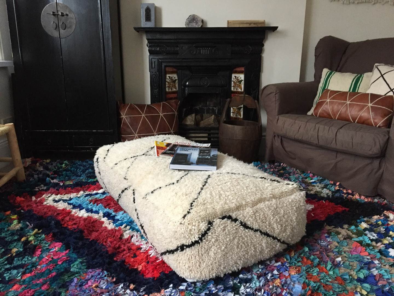 Floor cushion XXL Beni Ourain