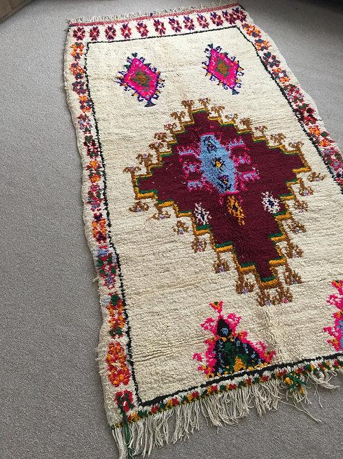 Moroccan, Genuine 100% Wool Azilal Rug (AZC30)