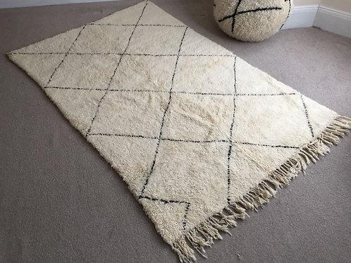 Moroccan Genuine 100% Wool Beni Ourain Rug (BO46)