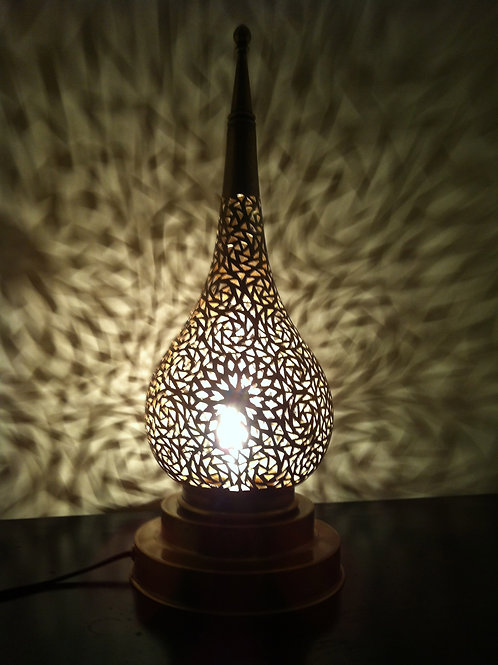 Authentic Brass Table Lamp Medium (BLD73)