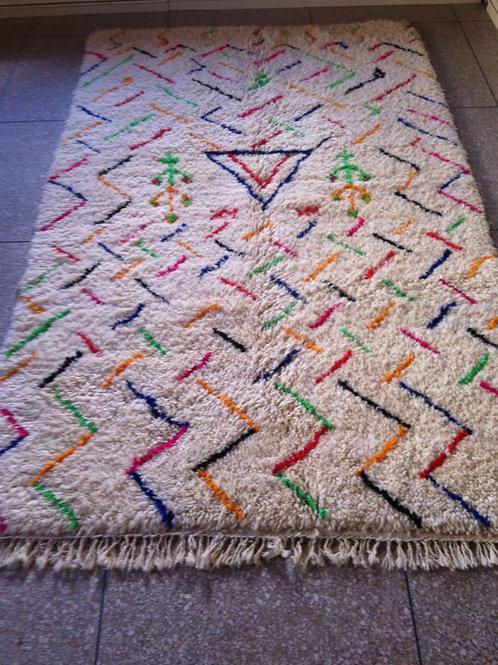 Moroccan Genuine 100% Wool Beni Ourain Rug (BOC43)