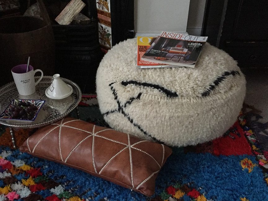 Floor cushion Beni Ourain