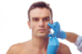 Men Injectables Facial Injection CT