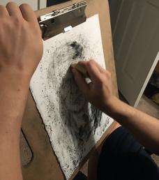 Robert Rauschenberg, Erased de Kooning Drawing