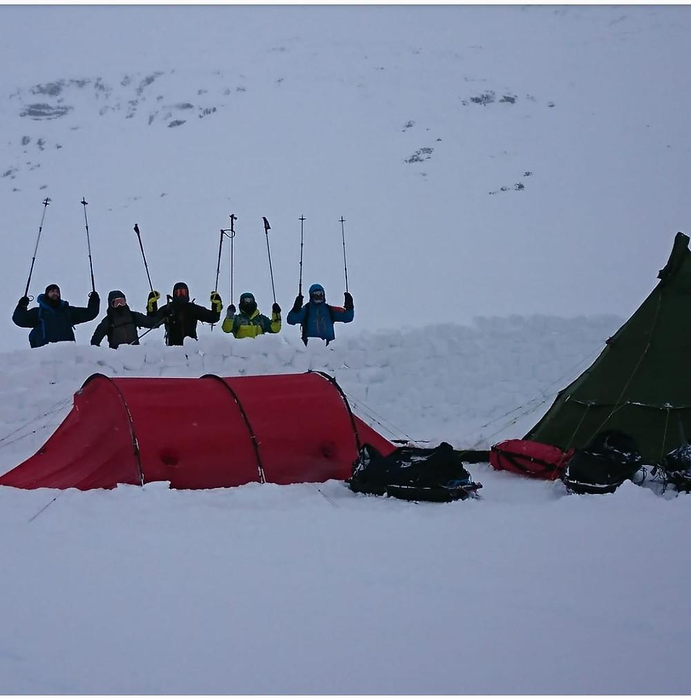 En nuestro campamento base