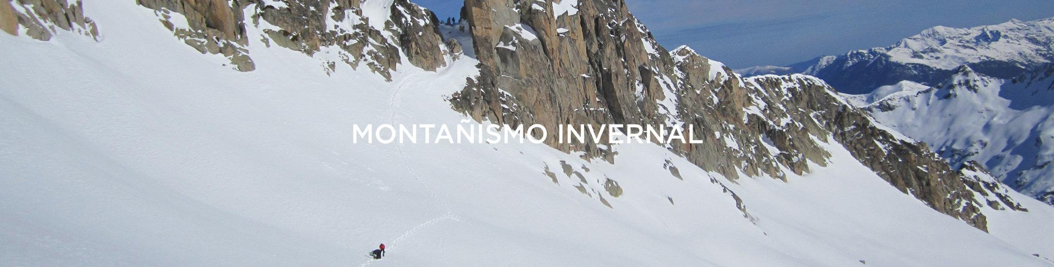 Montañismo invernal formación
