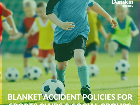 Blanket Accident Policies for Sports Clubs & Social Groups