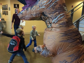 T-Rex has come to PAC!