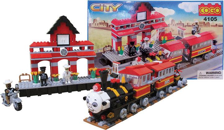 464pc Deluxe Lego Compatible Building Set
