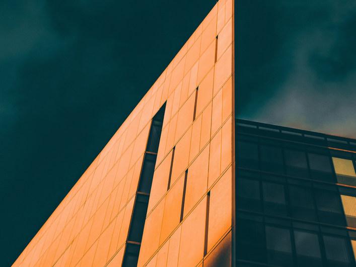 orange-sunlight-brightens-modern-archite
