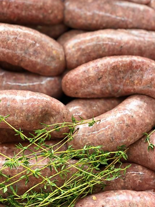 Pork Apple Cider Sausages 6 pack