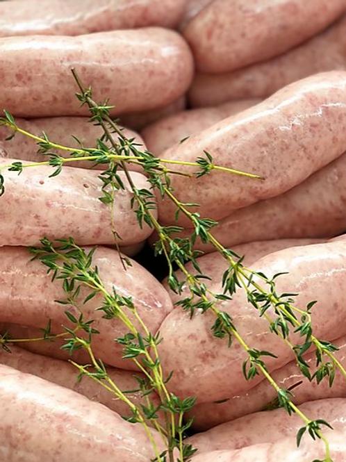 Pure Pork Sausages 6 pack