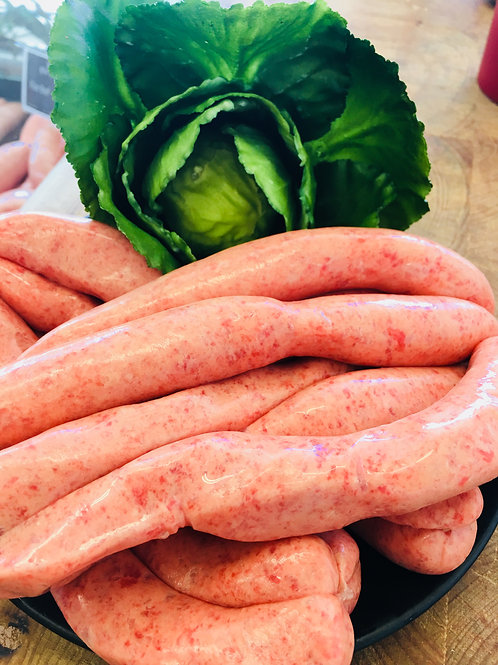 Pure Beef Breakfast Sausages 500g