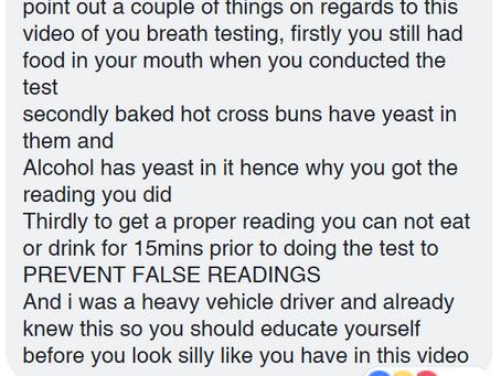 Hot Cross Bun Warning