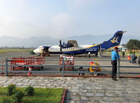Day 24 - Fly to Kathmandu (1400m)