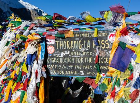 Day 15 - Trek via Thorung La Pass (5416m) - 2.5hrs then trek to Muktinath (3710m) - 4hrs