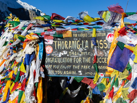 Day 15 - Trek via Thorung La Pass (5416m) - 2.5hrs then trek to Muktinath (3710m) - 4hrs