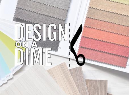 Design On A Dime: April Tips