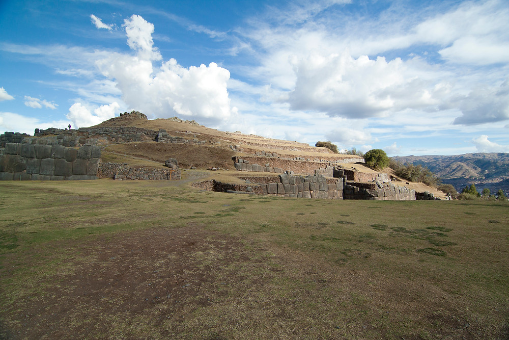 The Inca ruins of Saksaywaman